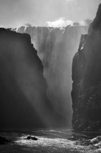 Victoria Falls from the Boiling Pot