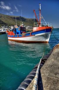 Fishing Boat Kalk Bay Harbour