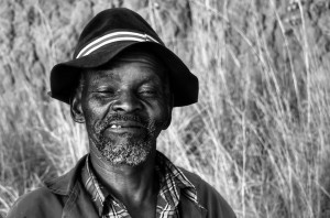 Xhosa man in the Transkei