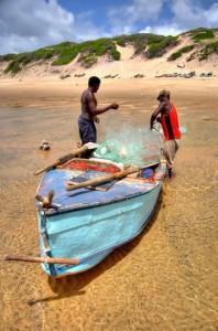 Fishermen mozambique