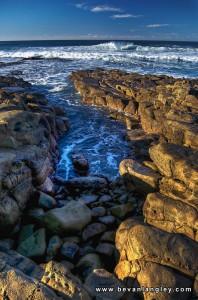 Haga Haga shoreline