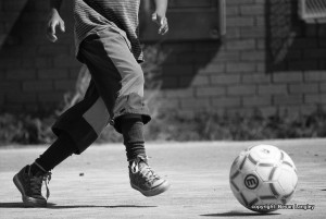 Plaing-soccer-at-Masiphumelele